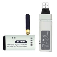 2.4GHz 640*480 Wireless Digital Video Camera USB Receiver+White Flash LED Camera Set