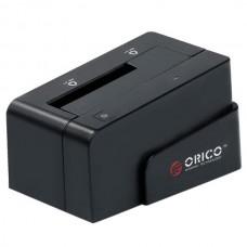 "ORICO 6618SUS3 USB3.0 2.5""&3.5"" 3TB e-SATA HDD Hard Drive Docking Station-Black"