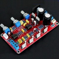 Assembled 2.1 Channels LM1875 NE5532 Audio Power Amplifier Board 25Wx2+50W(Sub)
