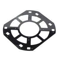XAircraft X650V F30021C Fuselage Lower Plate Carbon Fiber