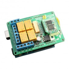 4 Mechanical Channel Relay Shield Module + Arduino UNO +Bluetooth Bee Set