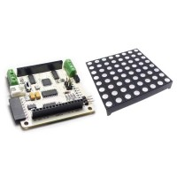 Rainbowduino RGB Matrix Shield + 8*8 RGB Full Colour Colorduino For Arduino