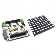 Rainbowduino RGB Matrix Shield + 8*8 RGB Full Colour Colorduino For Arduino