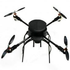 XA650 Carbon Fiber Aircraft Frame Kit 650mm Wheelbase Quadcopter w/ Landing Skid