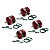 4pcs EMAX Airplane CF2805 KV2840 Outrunner Brushless Motor