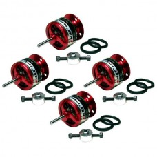 4pcs EMAX Airplane CF2822 KV1200 Outrunner Brushless Motor 740g Thrust