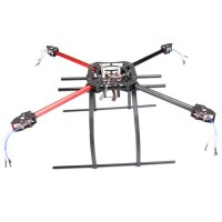 MK KK MWC 550mm Aircraft Frame Folding Quadcopter w/Tall Landing Skid