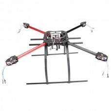 MK KK MWC 550mm Aircraft Frame Folding Quadcopter w/Tall Landing Skid