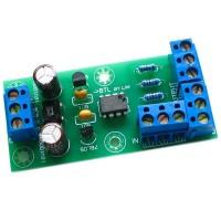 Inverting Buffer Design Stereo BTL Bridge Board XLR to Balanced Board DIY KIT