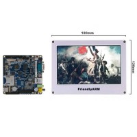 "Friendly Arm ARM11 Mini6410 S3C6410 (256M NAND Flash) Board + 7"" TFT LCD Screen"
