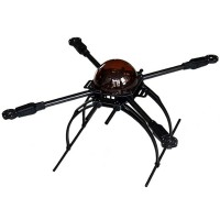 X650-V4/V8 KK MK FF MWC Carbon Fiber Folding Frame Quadcopter Aircraft FPV Kit