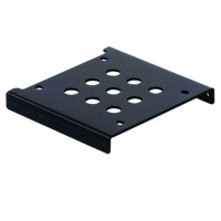 "ORICO AC325-1S Aluminum Alloy 2.5"" SSD HDD to 3.5"" Drive Rack Bracket - Black"