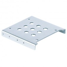 "ORICO AC325-1S Aluminum Alloy 2.5"" SSD HDD to 3.5"" Drive Rack Bracket - Silver"