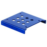 "ORICO AC325-1S Aluminum Alloy 2.5"" SSD HDD to 3.5"" Drive Rack Bracket - Blue"