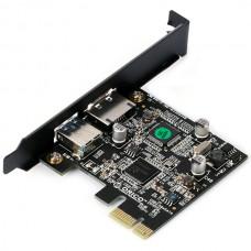 Dual Port USB3.0 / eSATA PCI Express Card ( USB 3.0 + eSATA ) -ORICO PNU3539-U3E