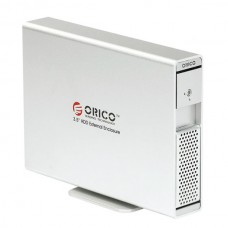 "ORICO 7619ES3 3TB 3.5"" SATA USB3.0 AES Encryption External HDD Enclosure Dock-Silver"