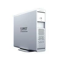 ORICO 7619US3 3.5' SATA USB3.0 External HDD Enclosure Support 3TB SATA3-Silver