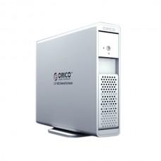 ORICO 7619US3 3.5' SATA USB3.0 External HDD Enclosure Support 3TB SATA3-Silver