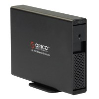 "ORICO 7619SUS3 3TB 3.5"" e-SATA USB3.0 Hard Drive External HDD Enclosure Dock-Black"