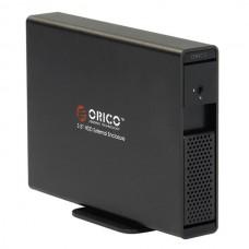 "ORICO 7619SUS3 3TB 3.5"" e-SATA USB3.0 Hard Drive External HDD Enclosure Dock-Black"