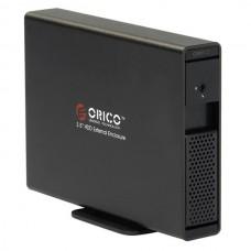 ORICO 7619SUS 3.5' SATA HDD External Enclosure + USB 2.0 ESATA Independent Power-Black