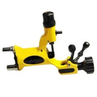 Professional  Motor Rotary Tattoo Machine Gun  For Artist High Quality Yellow
