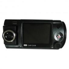 W100 Car Black Box Dual CMOS Sensor Dual Camera 720P Car DVR Support 32GB SD Card