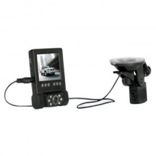 L1000 2.8 inch 6 LEDs H.264 HD 720P Dual Camera Separate Monitor CAR DVR