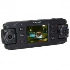 X8000 Dual Wide Angel Camera HD Car Camcorder GPS G-Sensor Password Protection