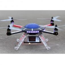 Walkera MX400 UFO Quadcopter for FPV W/ Aluminum Case+Propller