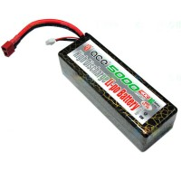 Gens ACE 11.1v 40C 5000mAh Hard Case 3S1P Lipo Battery Pack for Multi Helicopter
