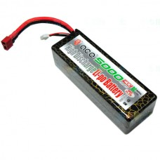 Gens ACE 11.1v 40C 5000mAh Hard Case 3S1P Lipo Battery Pack for Multi Helicopter