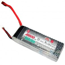 Gens ACE 2200mAh 11.1V 25C 3S1P Lipo Battery Pack for RC Airplanes