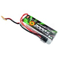 Gens ACE 2000mAh 11.1V 5C Futaba JR Dual Head Lipo Battery Pack for RC Airplanes