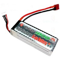 Gens ACE 1800mAh 11.1V 20C T Plug Lipo Battery Pack for RC Airplanes