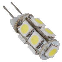 Cool White G4 5050 SMD 9 LED Marine Cabinet Camper Light Lamp Bulb 12V