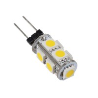 Warm White G4 5050 SMD 9 LED Marine Cabinet Camper Light Lamp Bulb 12V