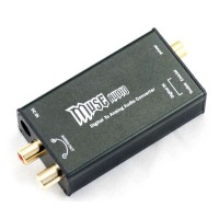 Mini 24Bit 192Khz Digital Optical Coaxial to Analog RCA Audio Converter DAC