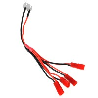 LED Strip Light Power Cable 4-in-1 3S Battery Female JST Plug for Multicopter Quadcopter
