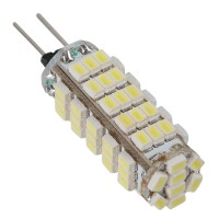 Pure White G4 3068 SMD 68 LED Marine Cabinet Camper Light Lamp Bulb 12V