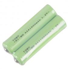 2pcs Tomo AAA1000mAh 1.2V  Rechargeable Ni-MH Battery AAA Battery