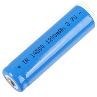 1pcs Tomo TR14500 14500 1200mAh 3.7V Rechargeable Li-ion Battery