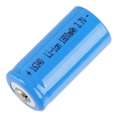 16340 123A CR123A 1800mAh Rechargeable Battery 3.7V