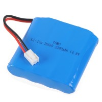 Tomo TR18650 18650 2200mAh 14.8V Rechargeable Li-ion Battery Pack