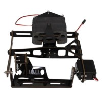 Assembled Two Axis Aerial PTZ Tilt/Zoom Triaxial Aerial Camera Mount for XA650 DJI S800