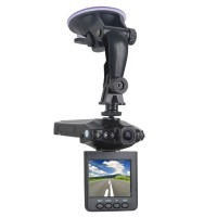 "Portable Car DVR Vehicle Camera Video Recorder with 2.5"" TFT LCD Screen"