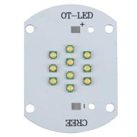 50W Aquarium Tank Warm White XPG LED Lighting For Fish Feeding Industry 30-36V