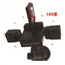 F303 2 Inch 2CH Dual Camera Night Vision Portable Car DVR Camera Recorder