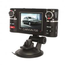 F30 Dual lens IR Car Vehicle Dash Dashboard Camera Cam Mini DVR