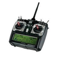 Hitec Aurora 9 2.4GHz 9 Channel Radio with Optima 7 Ch Receiver RX TX